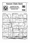 Dodge County Map Image 006, Steele and Dodge Counties 1985